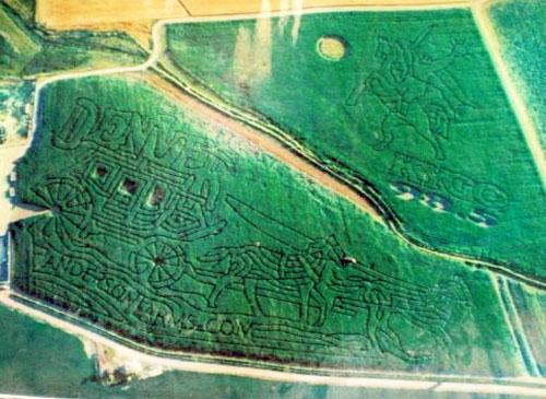 2001 Corn Maze